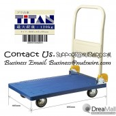 【Great Saving】【Cheapest Fold able Platform Trolley for Household use or heavy Duty work!】Loading capacity 120kg
