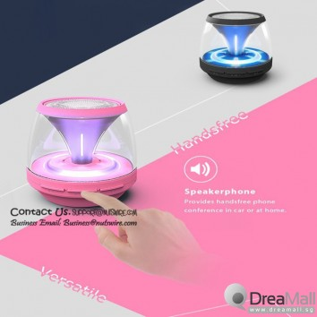 Mini LED Bluetooth Speaker with subwoofer. While stock last.
